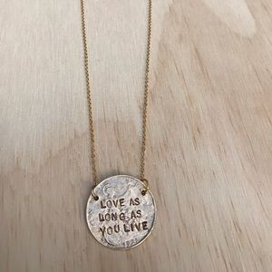 Alisa Michelle Coin Necklace
